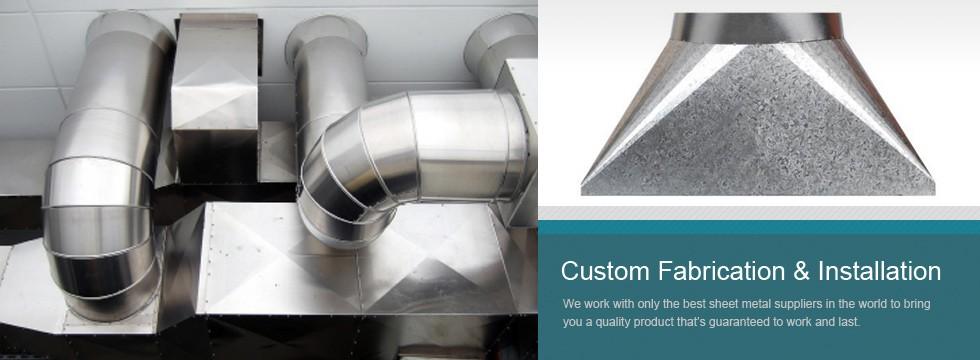 Virginia Sheet Metal Custom Sheet Metal Fabrication
